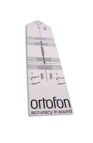 Ortofon Alignment Card
