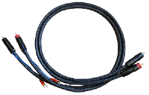 Silver Hybrid Interconnect Cable