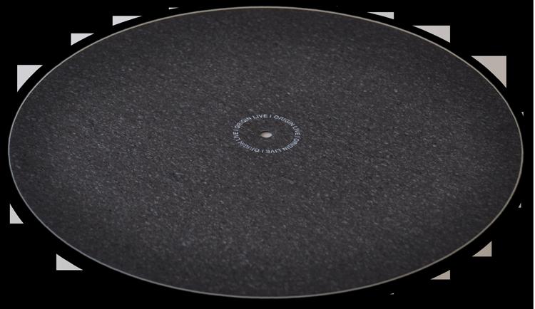Mats para tocadiscos Origin-live-platter-mat