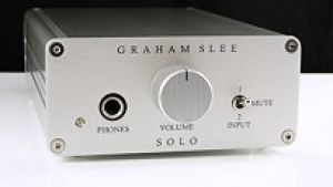 Solo SRGII - Headphone amplifier - GSP Audio (front view)