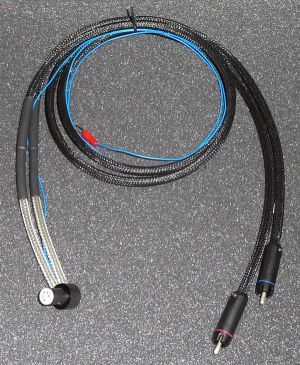 Linear Flow 2  External Tonearm Cable with 5 Din Pin Plug