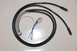 Silver Hybrid External Tonearm Cable (5 Din Pin)