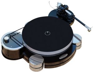 turntable sovereign with illustrious tonearm