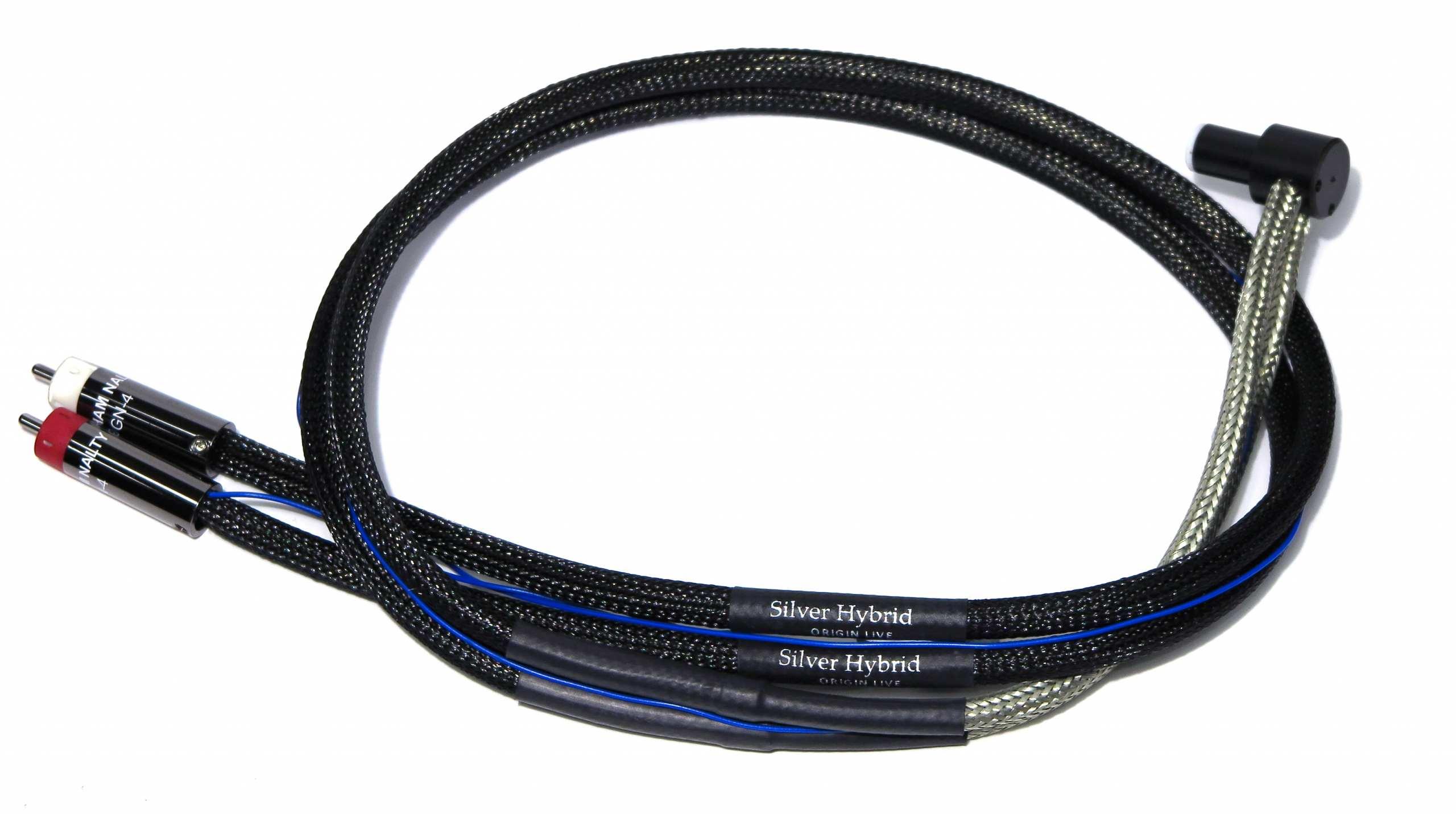 tonearm cable silver hyrbid