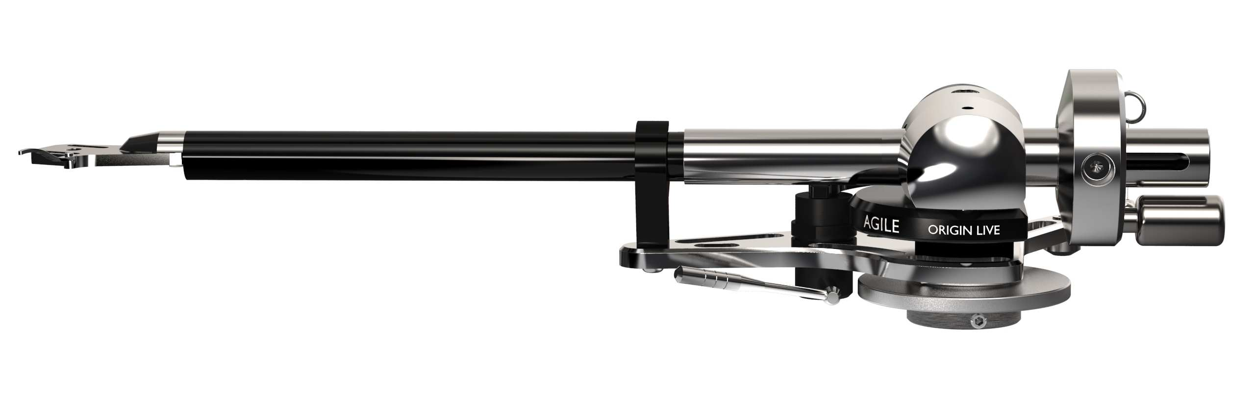 origin live agile high end tonearm left side