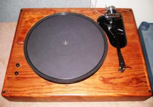 cosmos turntable with zephyr tonearm