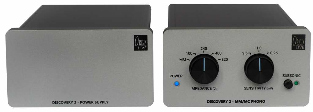 phono stage discovery 2 origin live front