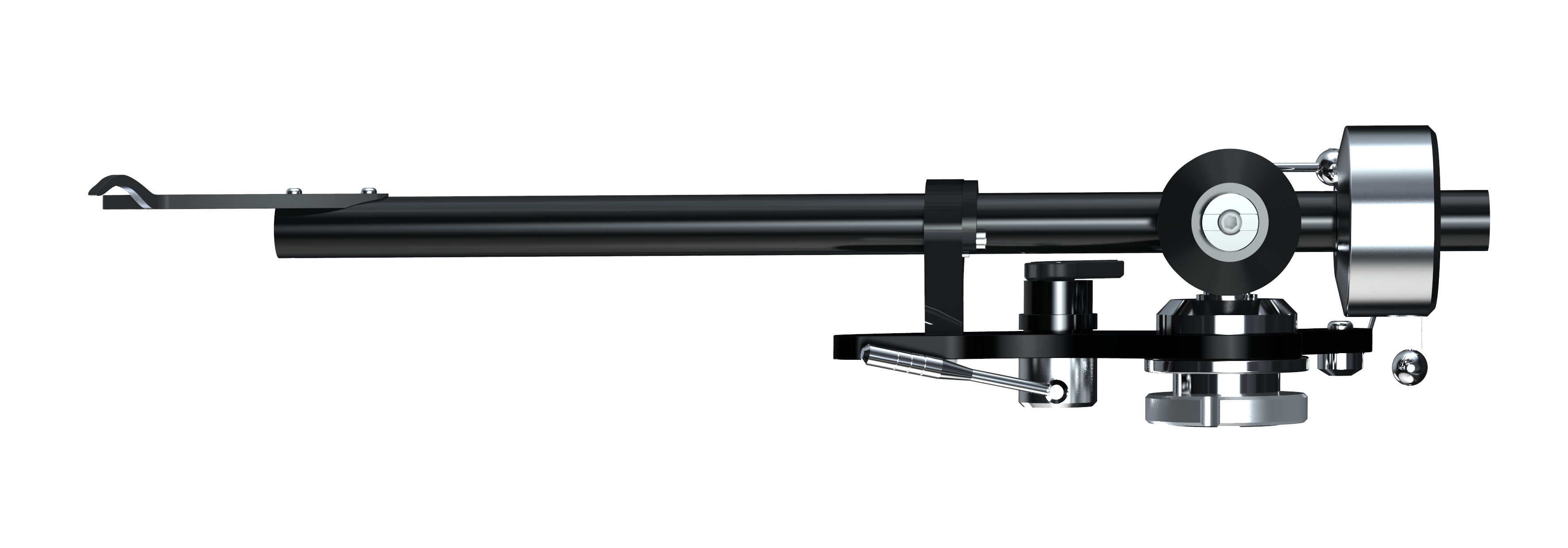 Origin Live - budget tonearm - alliance tonearm side shot